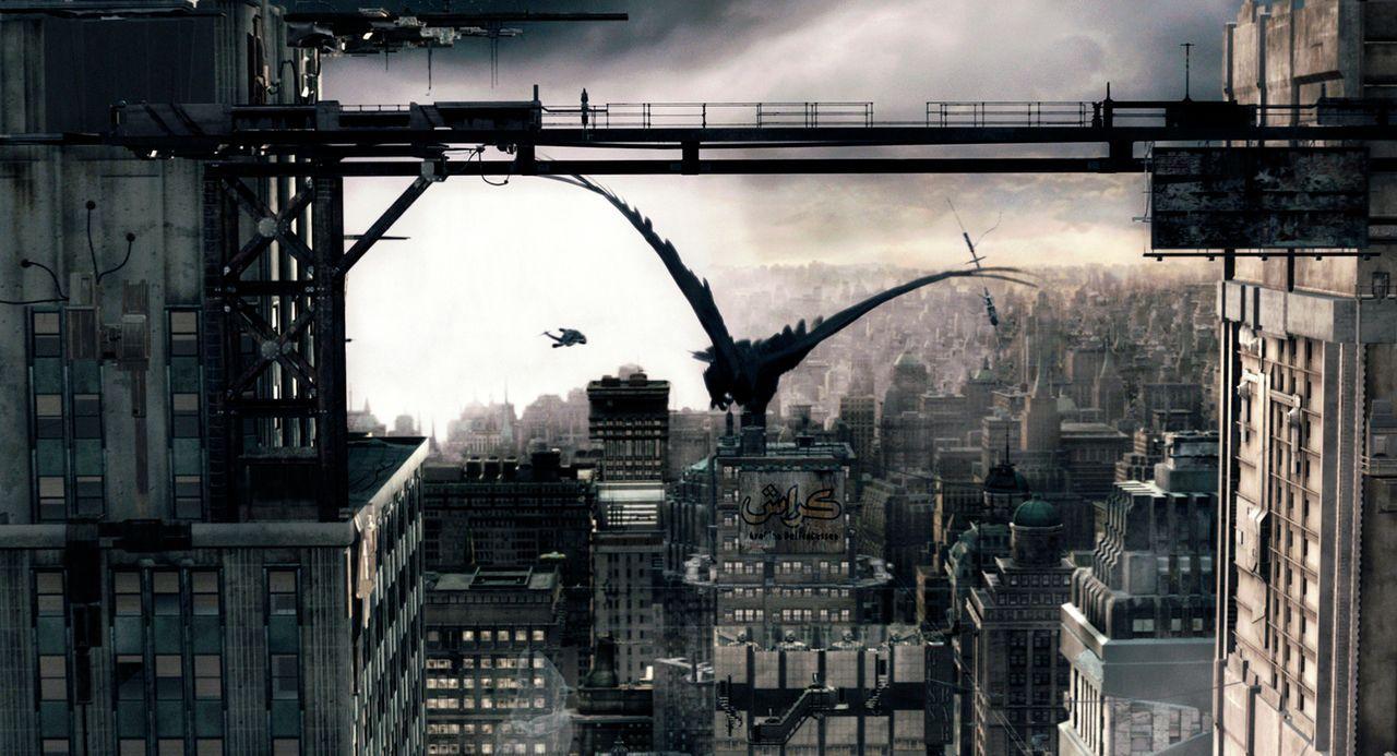 New York im Jahr 2095 - und überall schwirren dubiose Götter herum ... - Bildquelle: TF1 Films Productions
