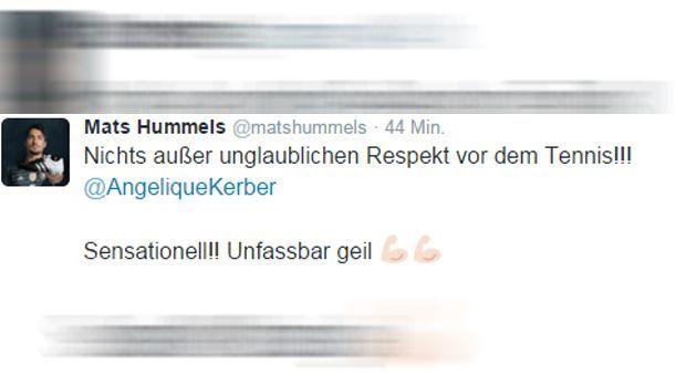 Mats Hummels Tweet - Bildquelle: twitter / @matshummels