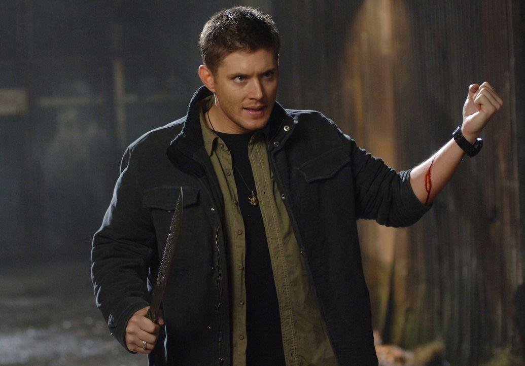 Gemeinsam mit seinem Bruder versucht Dean (Jensen Ackles) Dixon, einen Vampir, zu stoppen ... - Bildquelle: Warner Bros. Television