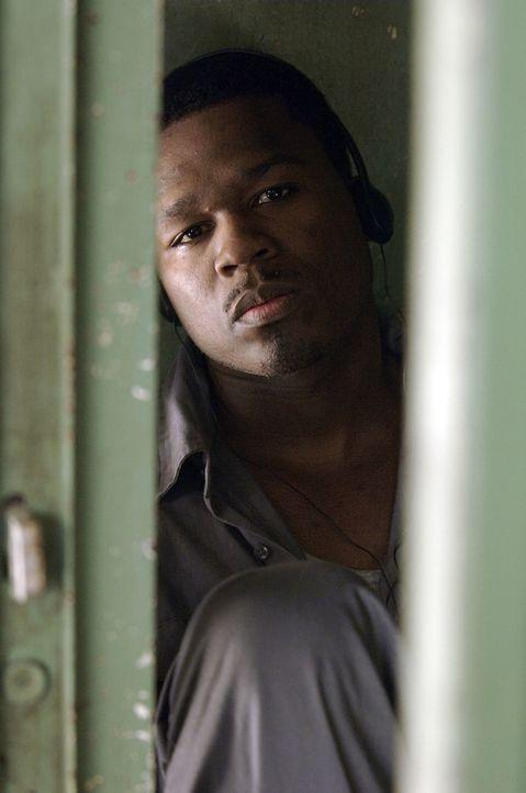 Gerade noch einmal dem Tod von der Schüppe gesprungen, landet Marcus (50 Cent) im Knast. Dort beginnt er über sein Leben nachzudenken und fasst den... - Bildquelle: 2005 by PARAMOUNT PICTURES. All Rights Reserved.