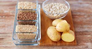 Kalorienarmes Essen = kohlenhydratarmes Essen? Nein, denn Kartoffeln und Reis...