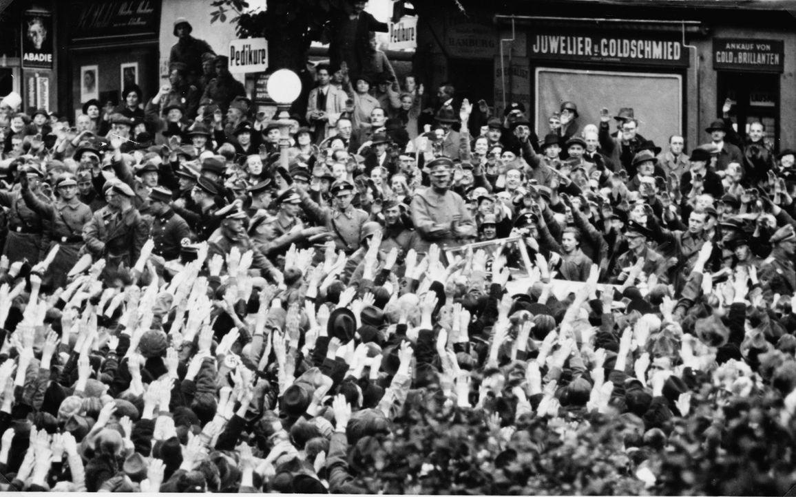 Am 30. September 1938 schlossen Großbritannien, Frankreich, Italien und das Deutsche Reich das Münchner Abkommen, in dem die Abtretung des Sudetenge... - Bildquelle: Library of Congress