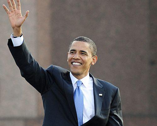 Barack Obama in Berlin - Bildquelle: dpa