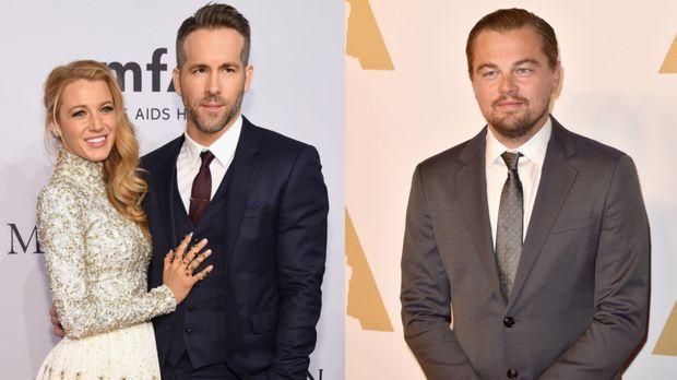 Oscars 2016 Star Leonardo Dicaprio Hemmungsloser Flirt Mit Ex Blake