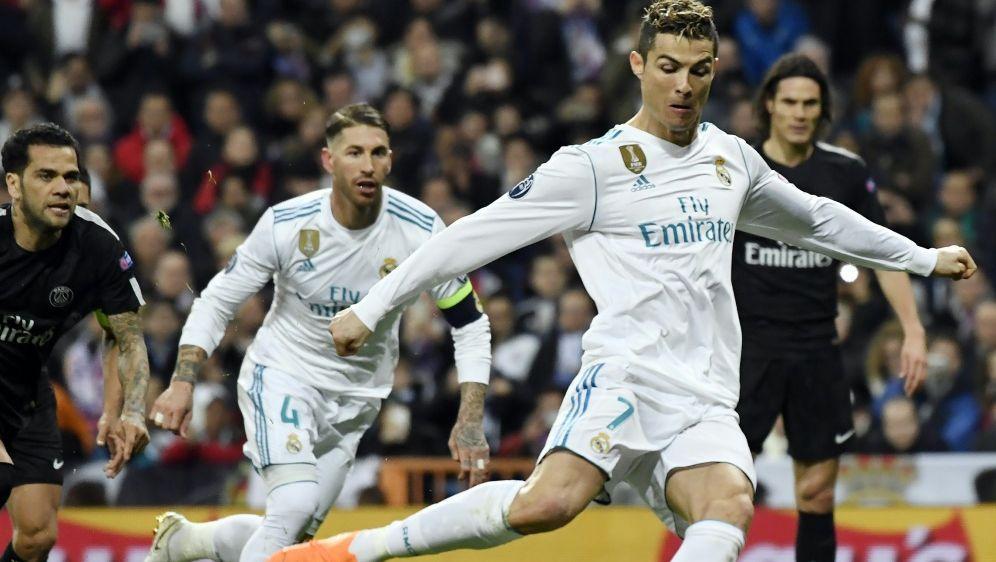 Cristiano Ronaldo sorgt für Gesprächsstoff - Bildquelle: AFPSIDCHRISTOPHE SIMON