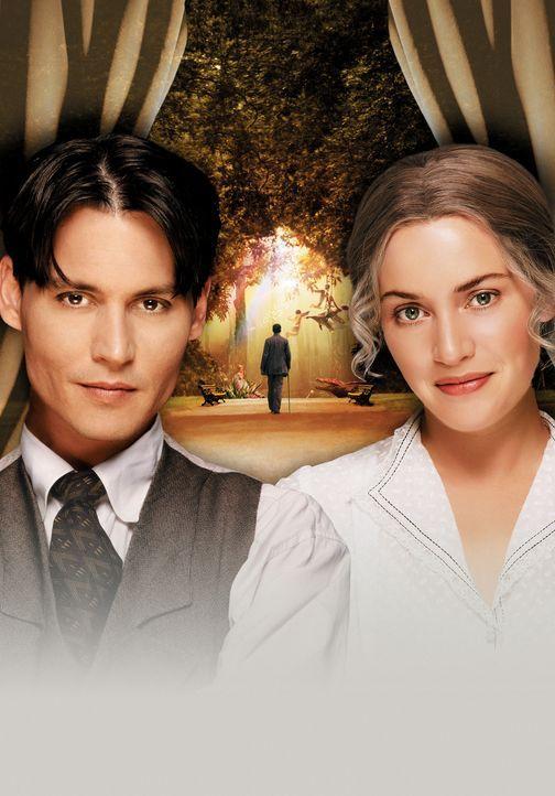 Auf der Suche nach Inspiration für sein neues Stück trifft Sir James Matthew Barrie (Johnny Depp, l.) eines Tages auf die wahre Liebe: Sylvia Llew... - Bildquelle: Miramax Films. All rights reserved