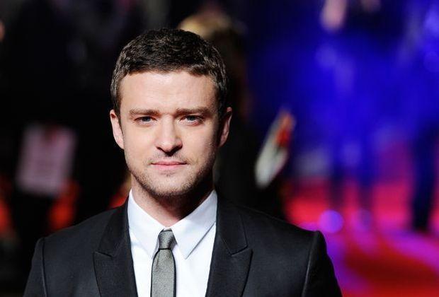 Justin Timberlake im Anzug