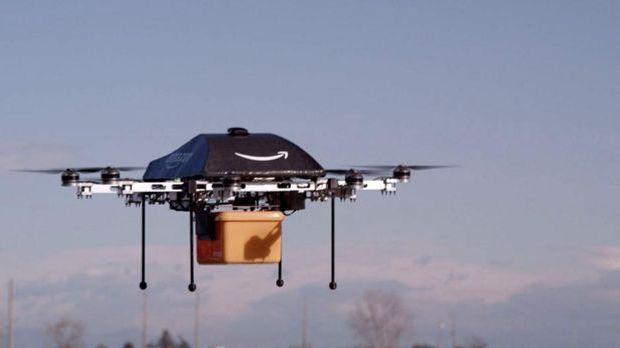 Drohnen bei der Post?
