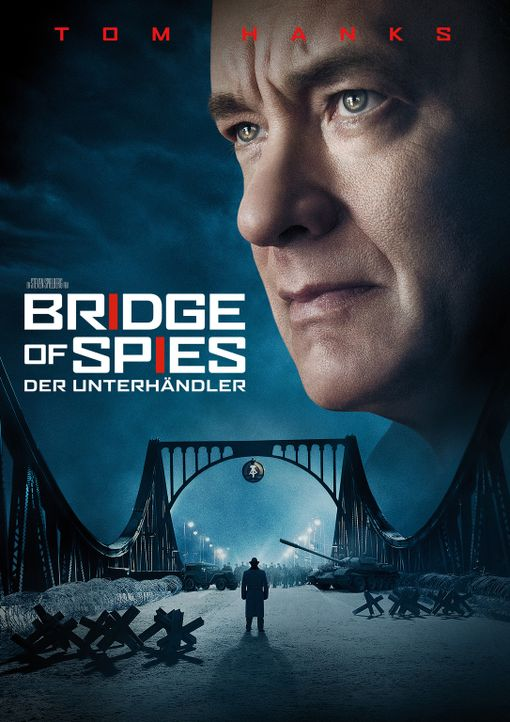 BRIDGE OF SPIES - DER UNTERHÄNDLER - Plakat - Bildquelle: DreamWorks II Distribution Co., LLC and Twentieth Century Fox Film Corporation.  All Rights Reserved.