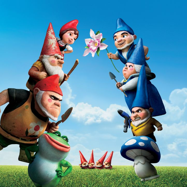 Gnomeo & Juliet - Artwork - Bildquelle: Touchstone Pictures,   Miramax Film NY, LLC. All rights reserved