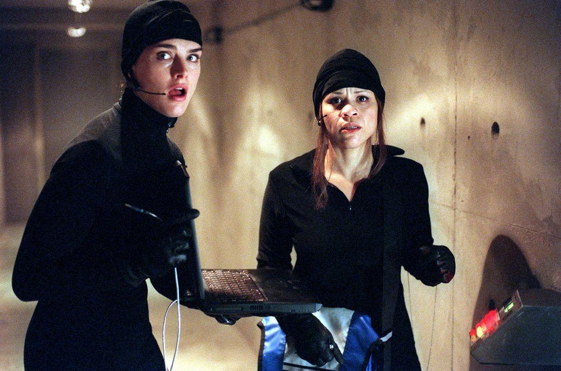 Gemeinsam machen sich Shirley (Brooke Shields, l.) und Linda (Rosie Perez, r.) daran, sich einen echten Vermeer unter den Nagel zu reißen ... - Bildquelle: ABC