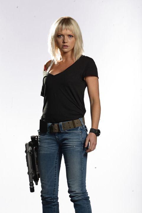 (4. Staffel) - Wichtiger Bestandteil des Teams: Zoologin Abby Maitland (Hannah Spearritt) ... - Bildquelle: ITV Plc