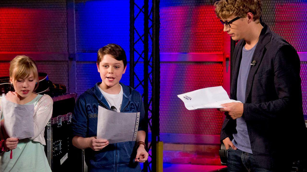 The-Voice-Kids-epi04-Thea-Sean-36-SAT1-Richard-Huebner - Bildquelle: SAT.1/Richard Hübner