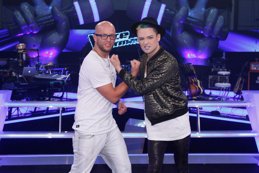 battle-keye-vs-sascha-w-07-the-voice-of-germany-huebnerjpg 2448 x 1632 - Bildquelle: SAT.1/ProSieben/Richard Hübner