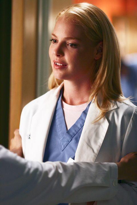 Ist wieder zurück im Krankenhaus: Izzie (Katherine Heigl) ... - Bildquelle: Touchstone Television