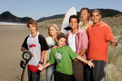Johnny Kapahala: Zurück auf Hawaii - Ende gut, alles gut: (v.l.n.r.) Jared (A...