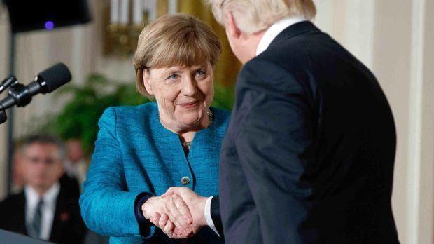 Angela Merkel hatte gut lachen