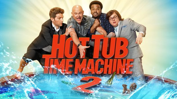 HOT TUB TIME MACHINE 2 - Artwork © 2015 Paramount Pictures Corporation and Me...