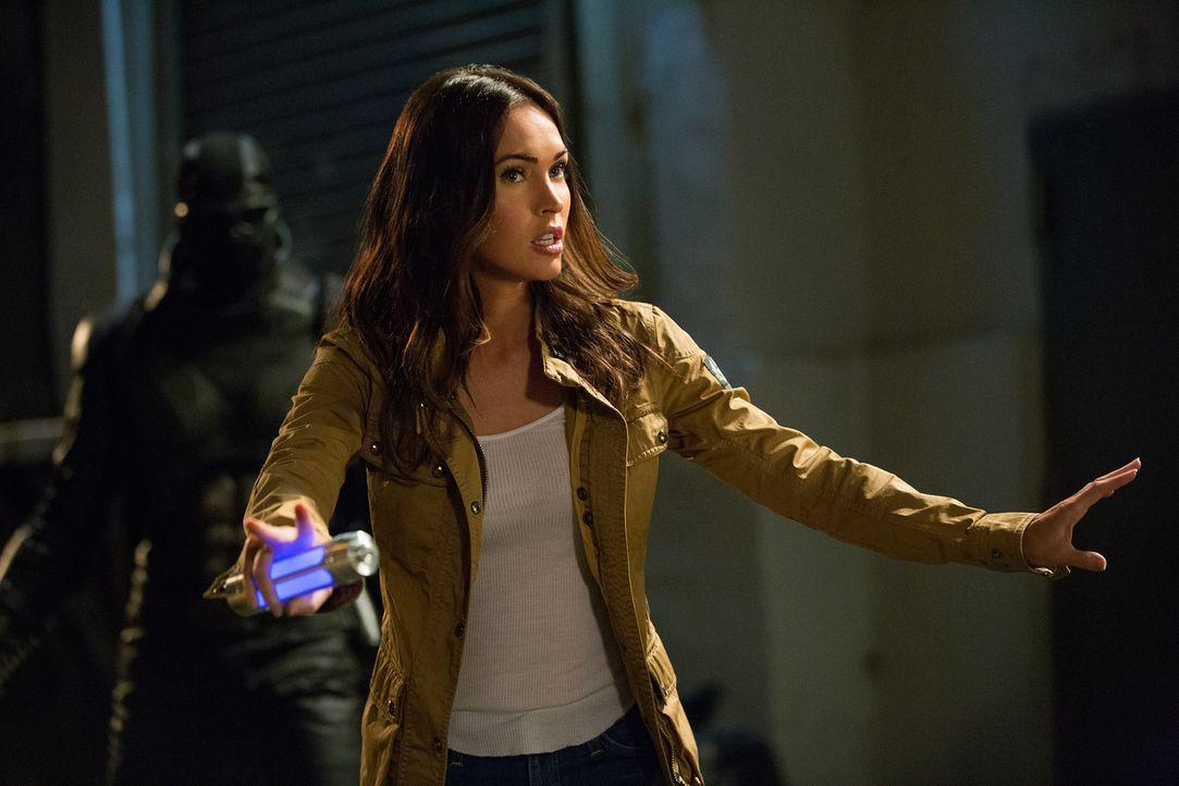 Kämpft gegen das Böse: April (Megan Fox) ... - Bildquelle: Jessica Miglio 2018 Paramount Pictures. All Rights Reserved. TEENAGE MUTANT NINJA TURTLES is a trademark of Viacom International Inc.