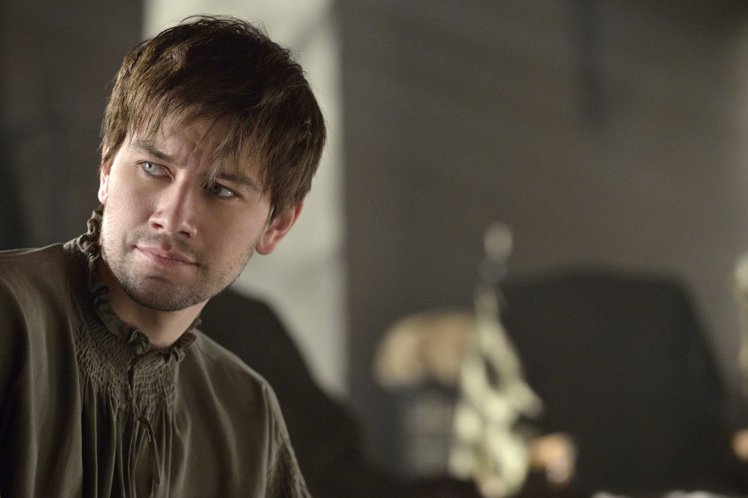 Findet allmählich Gefallen an der Ehefrau, die ihm von seinem Vater Henry II. aufgezwungen wurde: Bash (Torrance Coombs) ... - Bildquelle: 2013 The CW Network, LLC. All rights reserved.