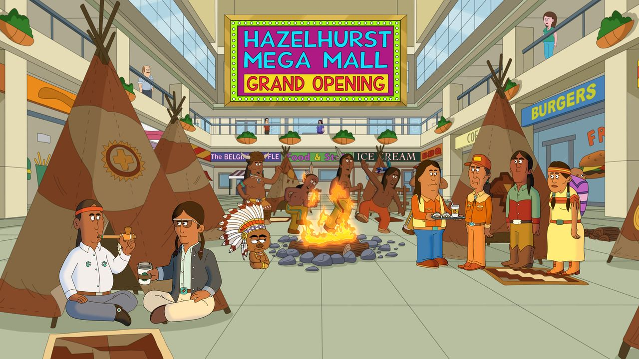 Die erste Marslandung steht bevor und die Welt ist gespannt. Die NASA will ihr Mission Control Center in Brickleberry stationieren. Mitten im Indian... - Bildquelle: 2013 Twentieth Century Fox Film Corporation and Comedy Partners. All rights reserved.