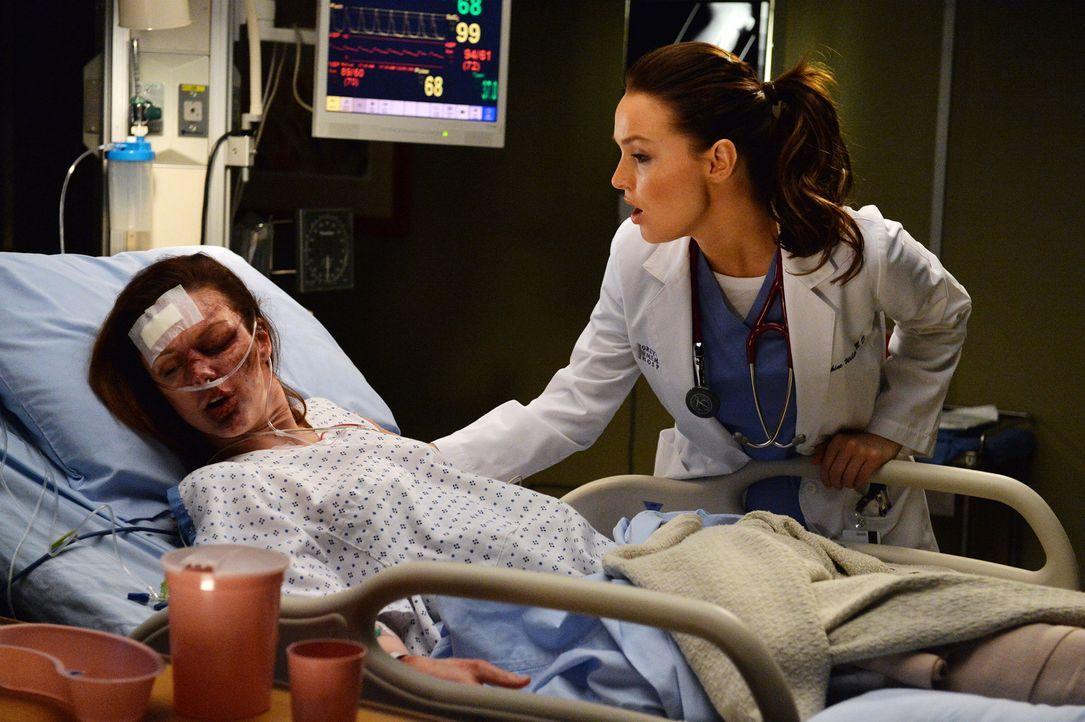 Ob Jo (Camilla Luddington, r.) die Veteranin Melissa (Meg Chambers, l.) davon überzeugen kann, fremde Hilfe anzunehmen? - Bildquelle: ABC Studios