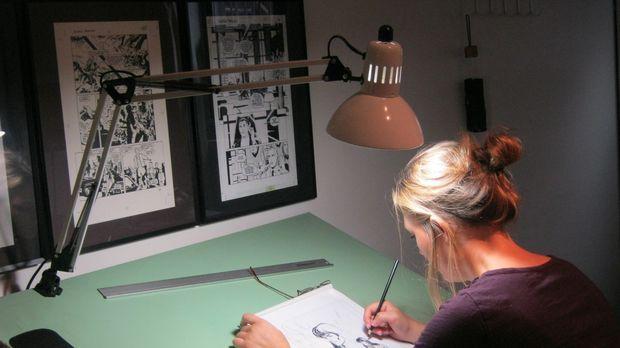 Colleen Doran (Darstellerin unbekannt) ist eine erfolgreiche Comicbuch-Autori...