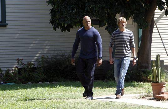 Navy CIS: L.A. - Ermitteln in einem neuen Fall: Sam (LL Cool J, l.) und Deeks...