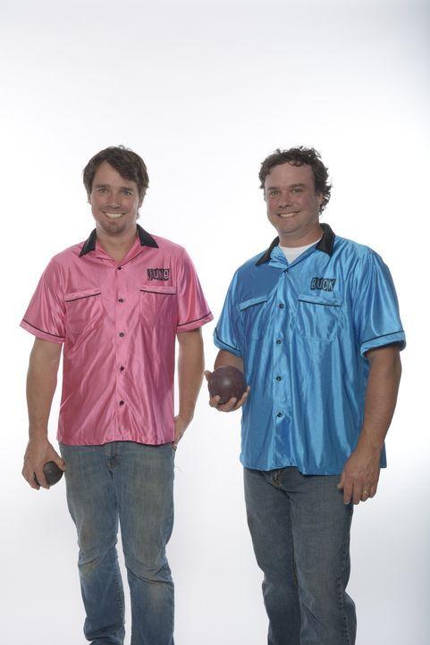 Starten jeden Monat ein neues Projekt mit dem sie ihr Ferienhaus in etwas Außergewöhnliches verwandeln wollen: Kevin (r.) und Andrew (l.) ...