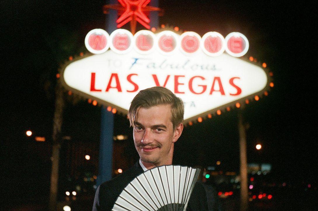 Das Duell um die Welt geht weiter. Doch wird Joko seine Aufgabe in Las Vegas meistern? - Bildquelle: Frank Dicks ProSieben
