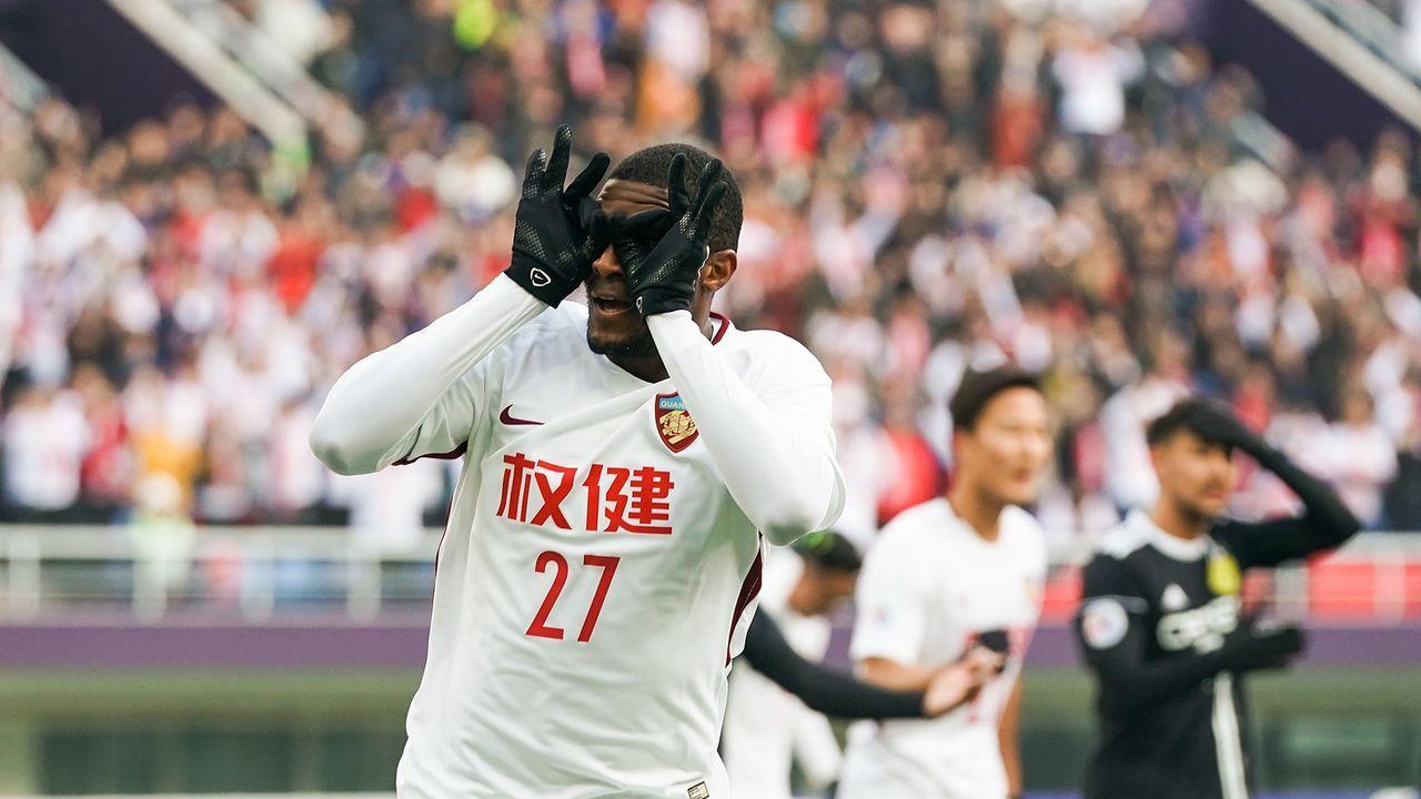 Anthony Modeste (Tianjin Quanjian)    - Bildquelle: Getty Images
