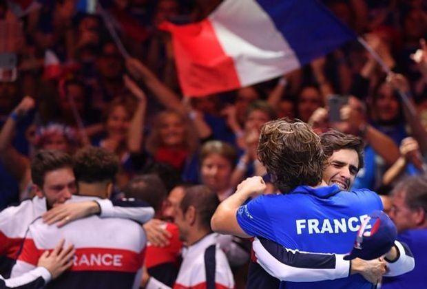 Davis Cup: Zehnter Titel für Frankreich
