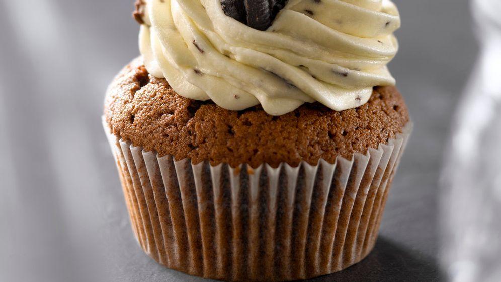 Oreo-Cupcakes mit Keksen: Rezept