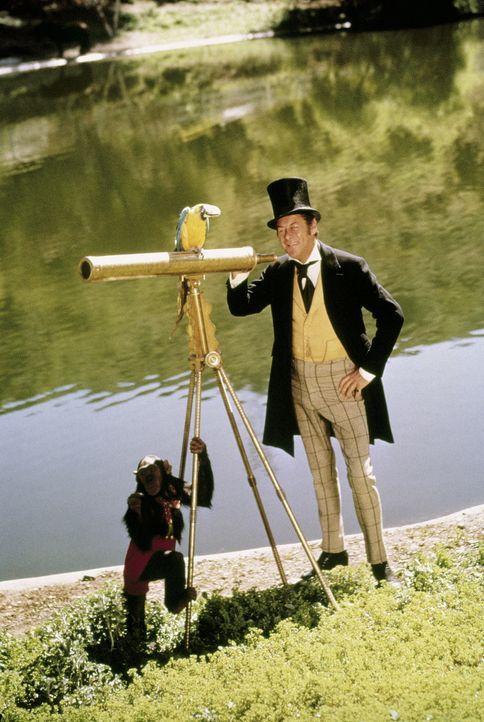 Dr. Dolittle (Rex Harrison) sucht die rosafarbene Riesenseeschnecke ...