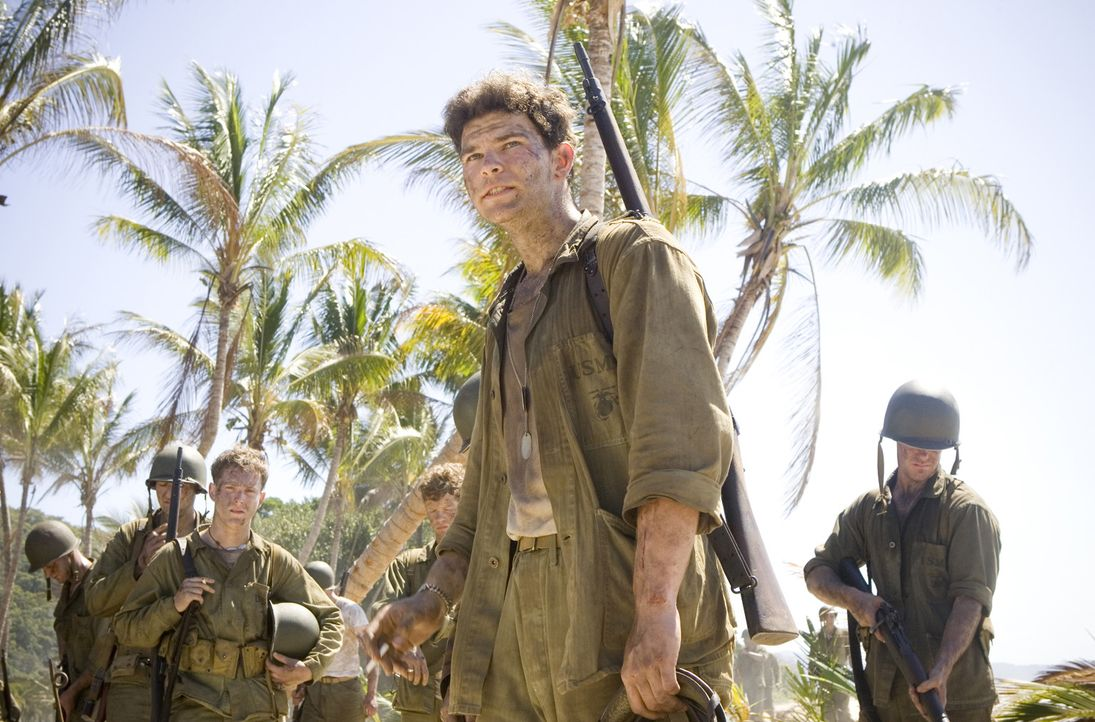 Von August 1942 bis Februar 1943 war die Insel Guadalcanal der Brennpunkt sehr heftiger Kämpfe zu Lande, zu Wasser und in der Luft. Für Chuckler (... - Bildquelle: Home Box Office Inc. All Rights Reserved.