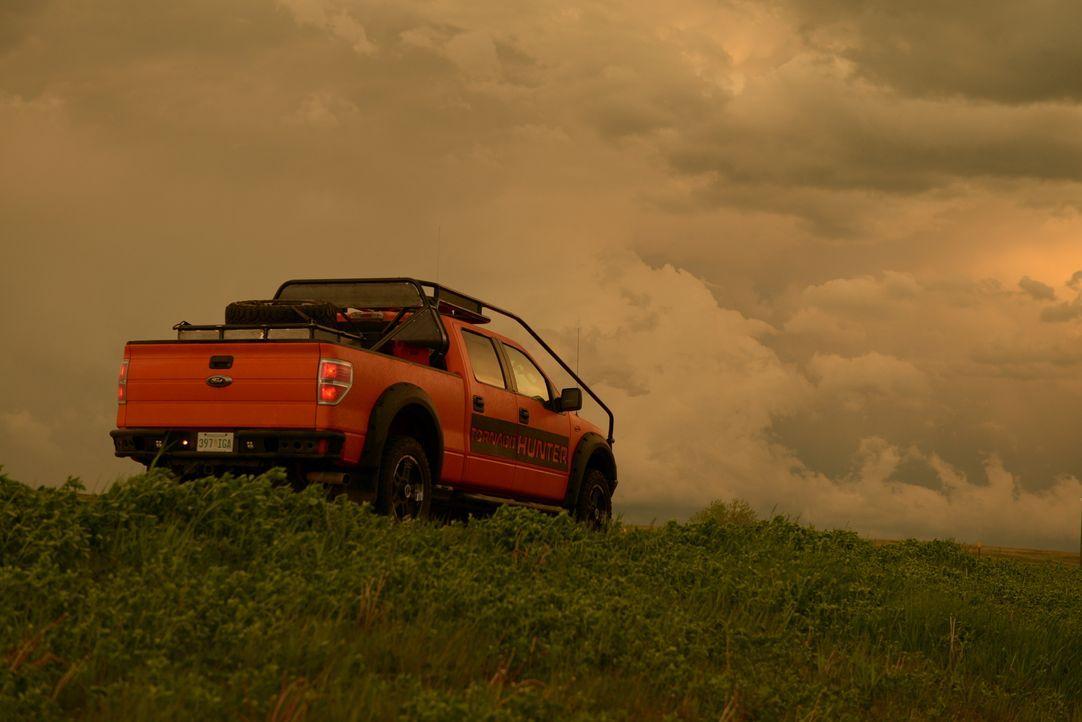 Die Tornado Hunter jagen den spektakulären Unwettern hinterher ...