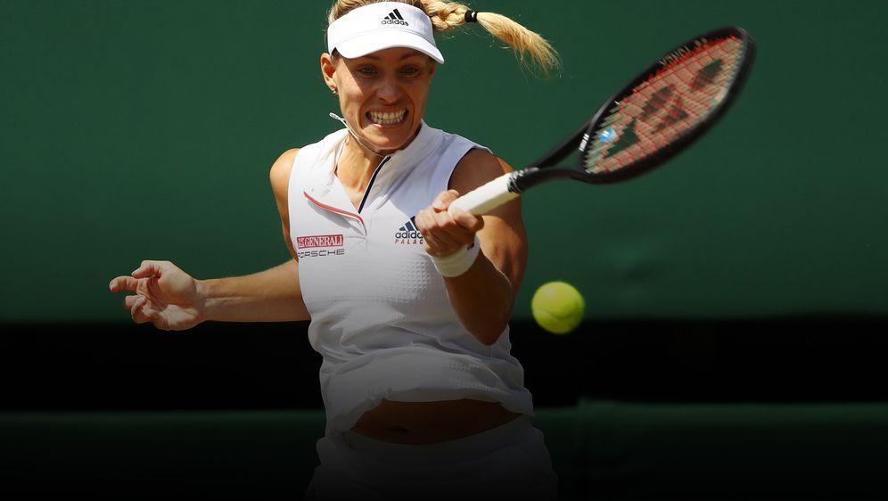 Angelique Kerber steht zum zweiten Mal in Wimbledon im Finale. - Bildquelle: getty