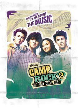 Camp Rock 2: The Final Jam - CAMP ROCK: THE FINAL JAM - Plakatmotiv - Bildque...