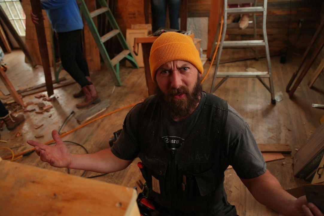 Treehouse Guy Ka-V liebt es, durchs Land zu reisen und extravagante Baumhäuser zu erschaffen. Werden er und die anderen Baumhausbauer es auch dieses... - Bildquelle: 2015, DIY Network/Scripps Networks, LLC. All Rights Reserved.
