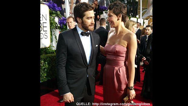 Golden-Globes-Jake-Maggie-Gyllenhaal-Instagram - Bildquelle: http://instagram.com/goldenglobes