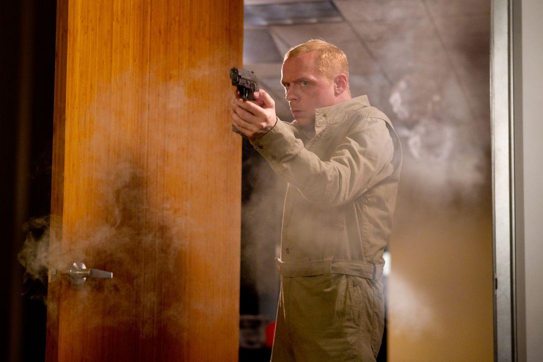 Ohne das Computergenie Benji Dunn (Simon Pegg) wäre Ethan auf der Jagd nach einem geheimen Code wohl völlig aufgeschmissen. Ob sie noch rechtzeitig... - Bildquelle: 2011 Paramount Pictures.  All Rights Reserved.