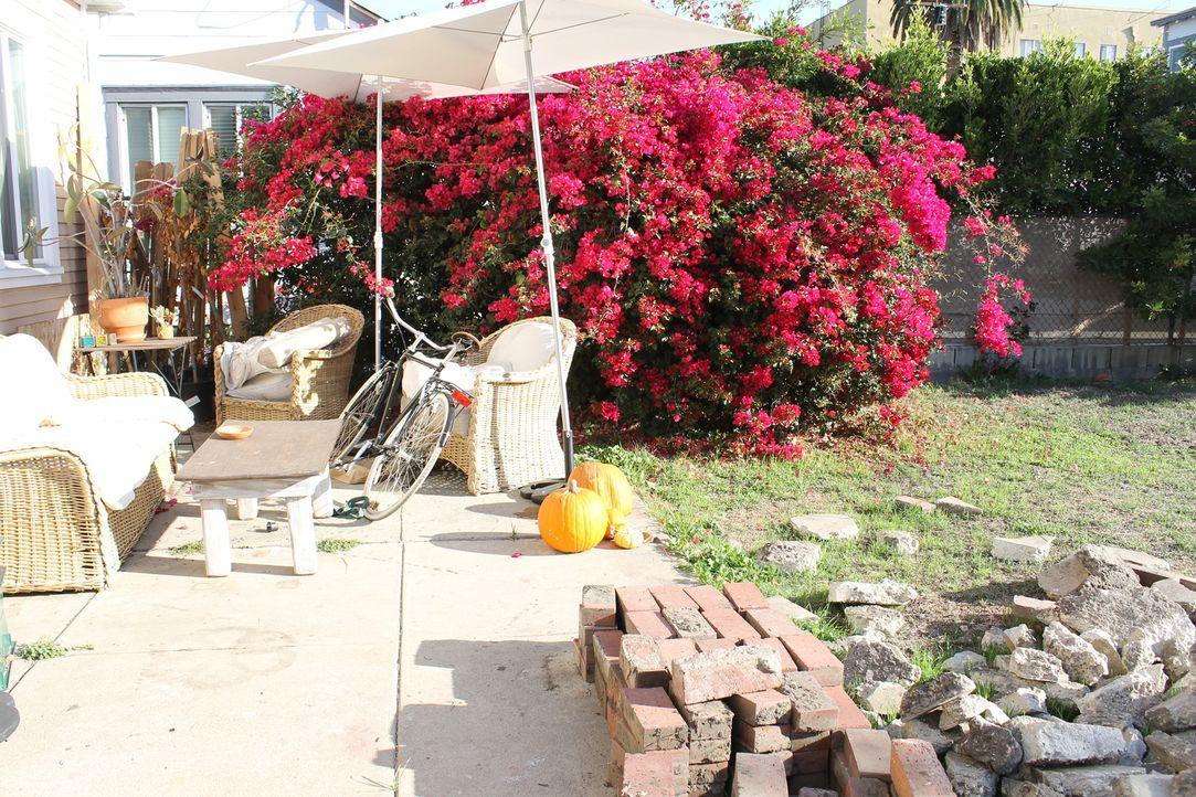 Nachdem Shawn und seine Schwester als Kinder ständig umgezogen sind, freut sich Shawn jetzt über sein erstes Eigenheim, doch der Garten macht ihm So... - Bildquelle: 2014, DIY Network/Scripps Networks, LLC. All RIghts Reserved.