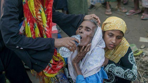 Rohingya-Flüchtlinge