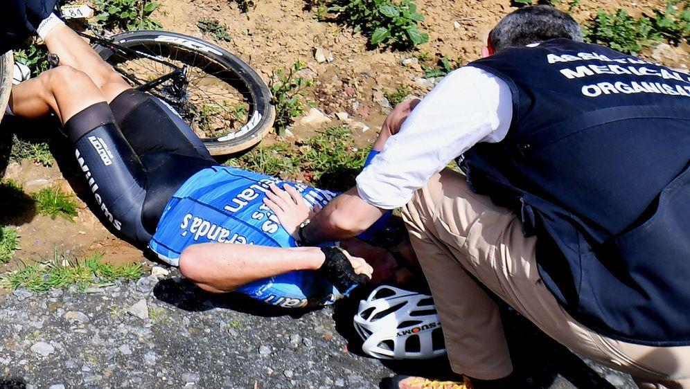 Radprofi Goolaerts stirbt nach Horror-Sturz - Bildquelle: (c) BELGA