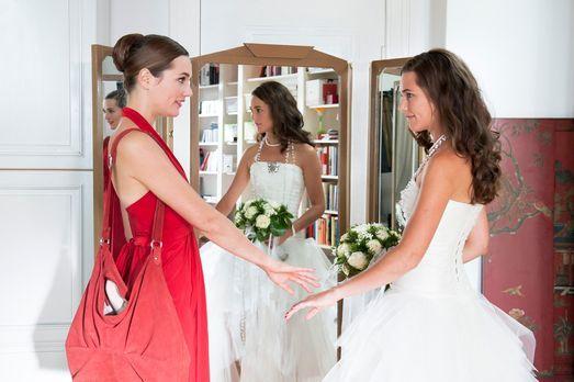 Im Brautkleid meiner Stiefschwester von ihrem Bräutigam geschwängert