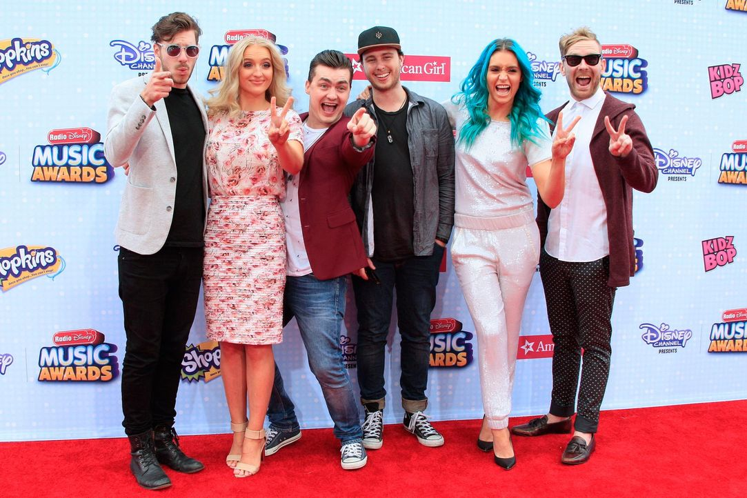 Radio-Disney-Music-Awards-150426-Sheppard-13-dpa - Bildquelle: dpa