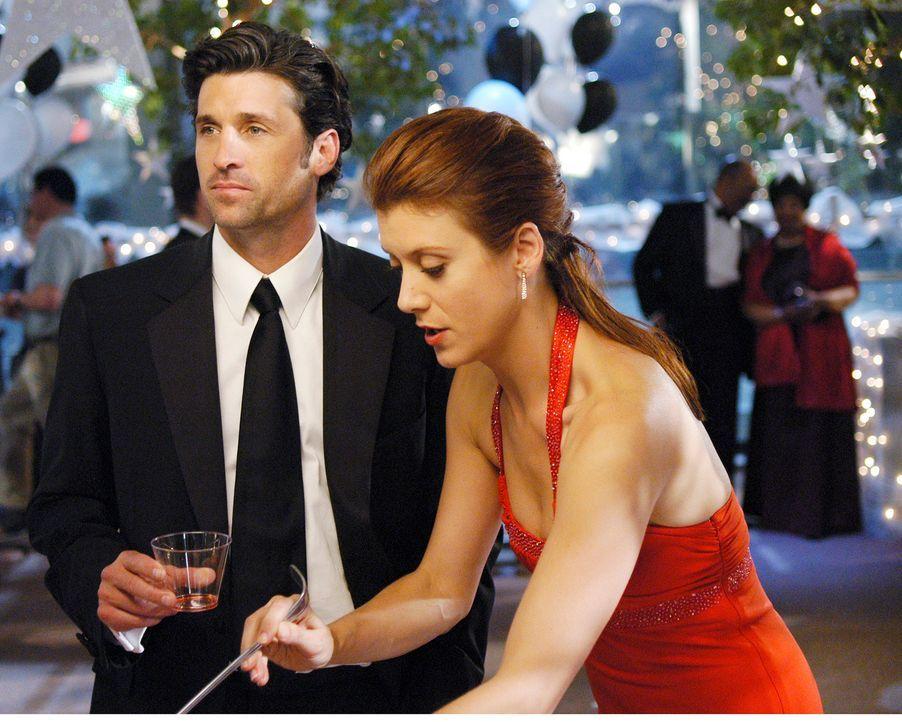 Nehmen am Abschlussball von Webbers Nichte teil: Derek (Patrick Dempsey, l.) und Addison (Kate Walsh, r.) ... - Bildquelle: Touchstone Television