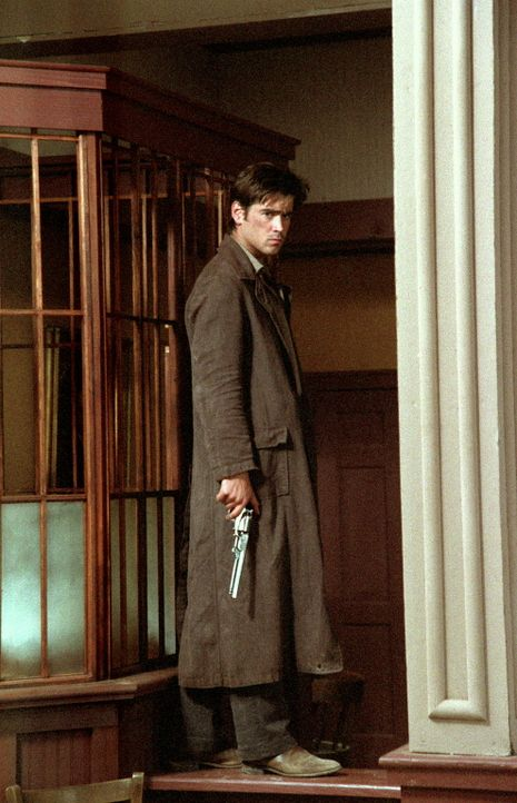 Jesse James (Colin Farrell) bekämpft die Eisenbahngesellschaft ... - Bildquelle: Warner Bros.
