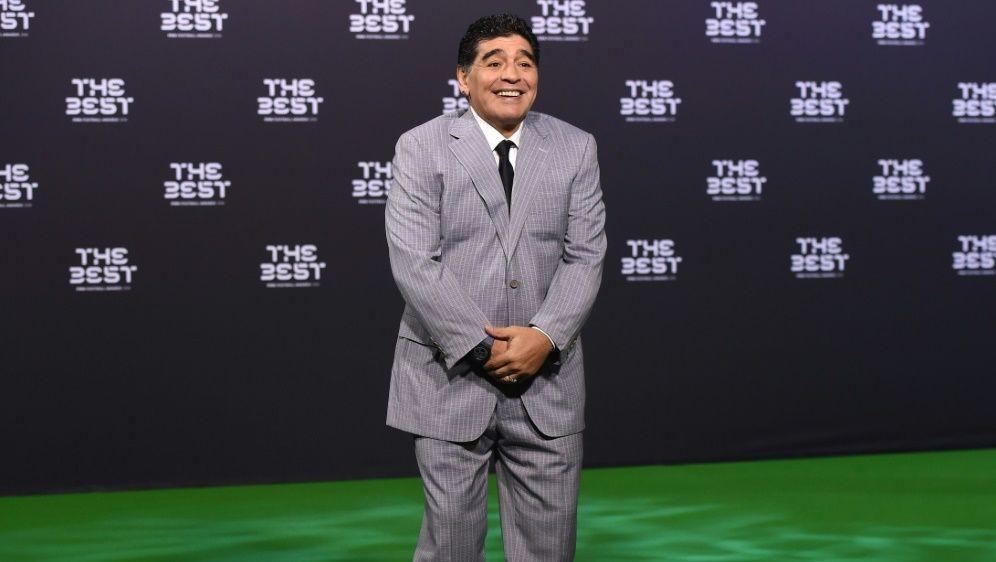 Diego Maradona ist kein Fan der WM-Vergabe 2026 - Bildquelle: PIXATHLONPIXATHLONSID