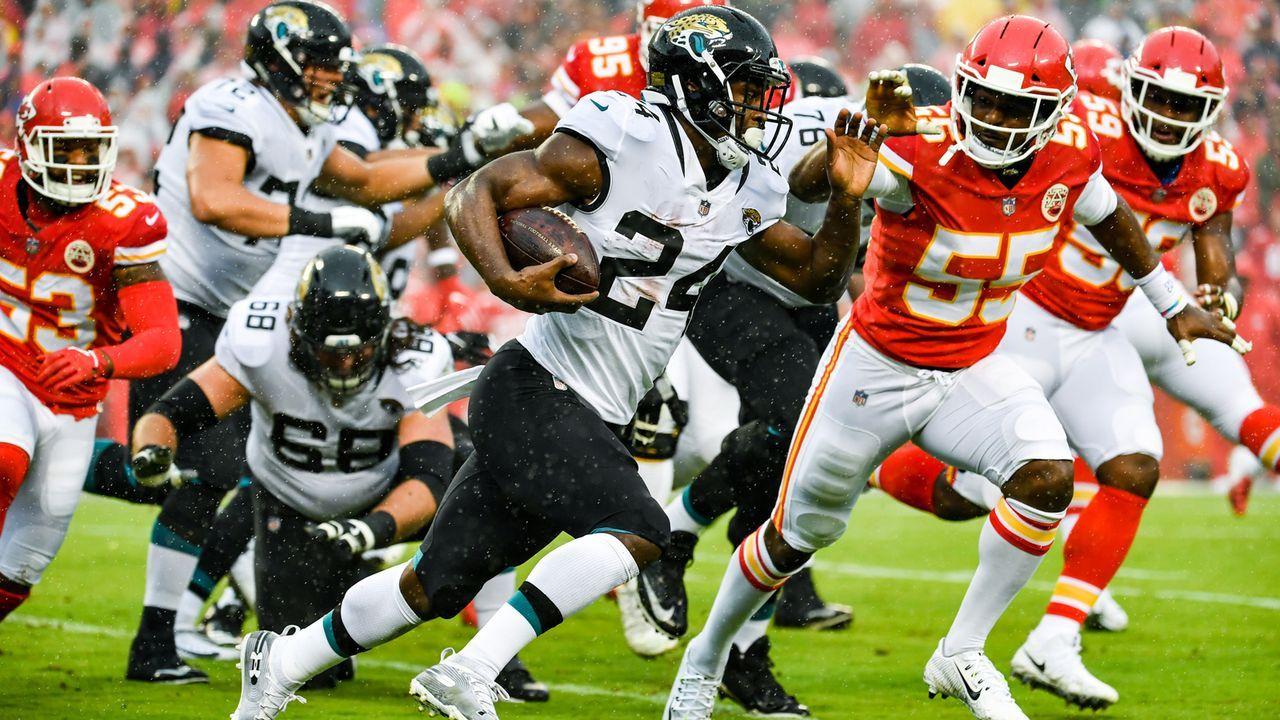 7. Platz: Jacksonville Jaguars (3:2, vorige Woche 5.) - Bildquelle: Getty